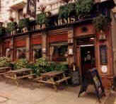 The Plumbers Arms Pub Sign November 1999 In Lower Belgrade Street - where Lady Lucan ran to for help after being attacked by her husband Lord Lucan