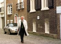 John Stalker investigates Lord Lucan Disappearance 1999 standing outside 5 Eaton Mews Street - the home of Lady Lucan.